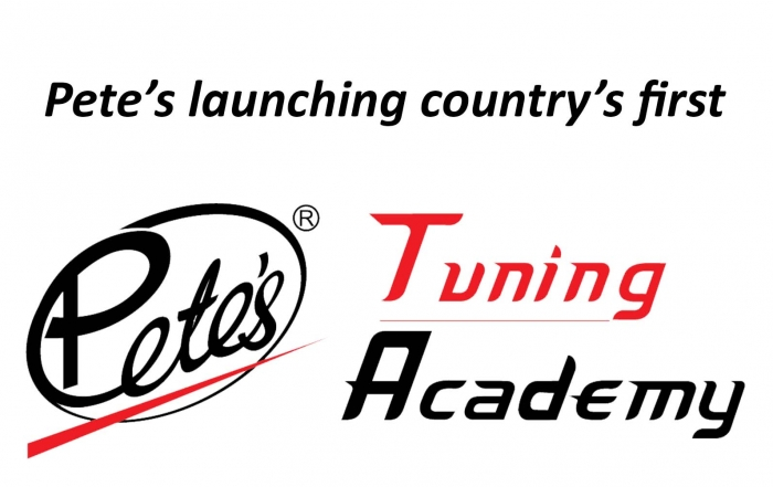 Pete's launching country's first – Pete's Tuning Academy